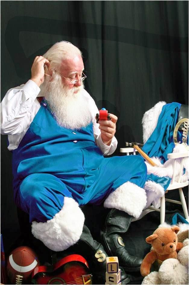 Santa Blue