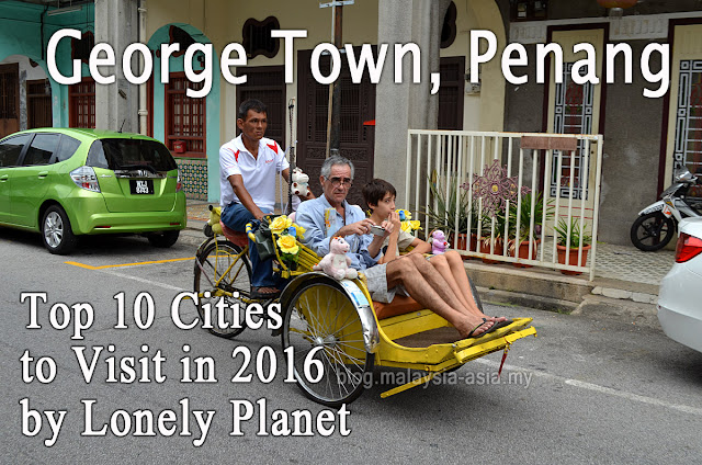 George Town Top 10 Cities to Visit in 2016 Malaysia
