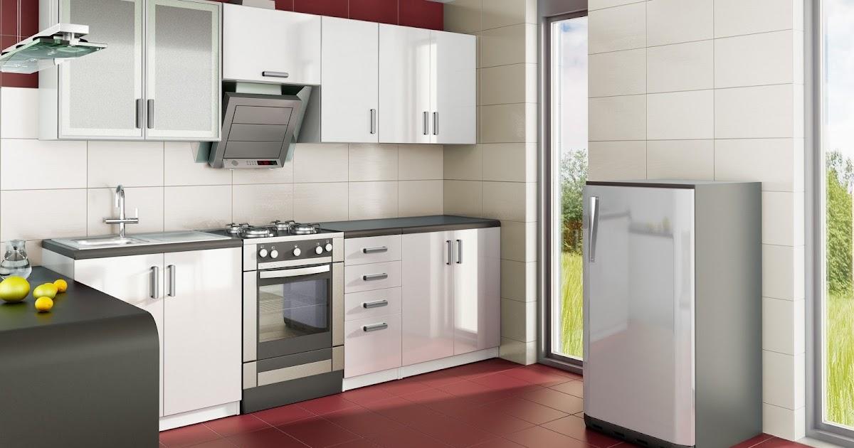 Armoire de cuisine blanche moderne id es d co pour for Armoires de cuisine et plus inc