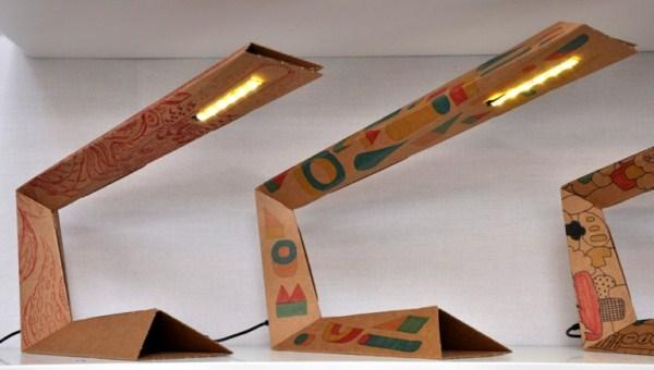 cardboard diy ideas creative lamp desingrulz design idea