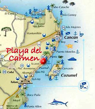Best 25 Maps playa del carmen ideas on Pinterest  Playa del