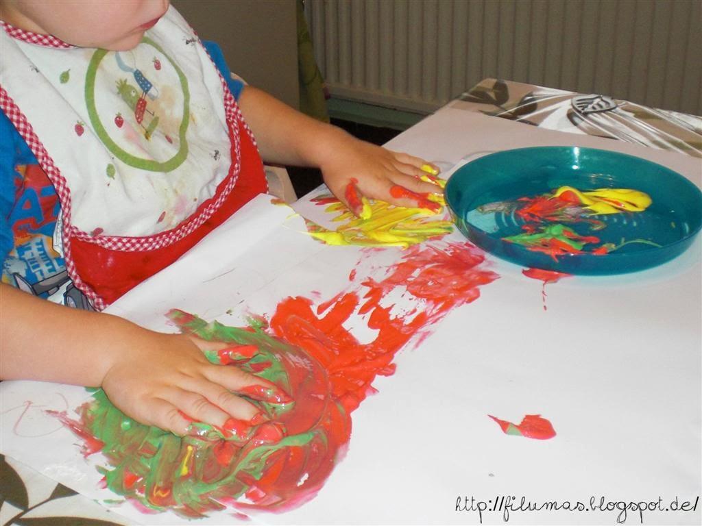 Filumas schlechtwetterprogramm ein neuer versuch - Fingerfarben ideen ...