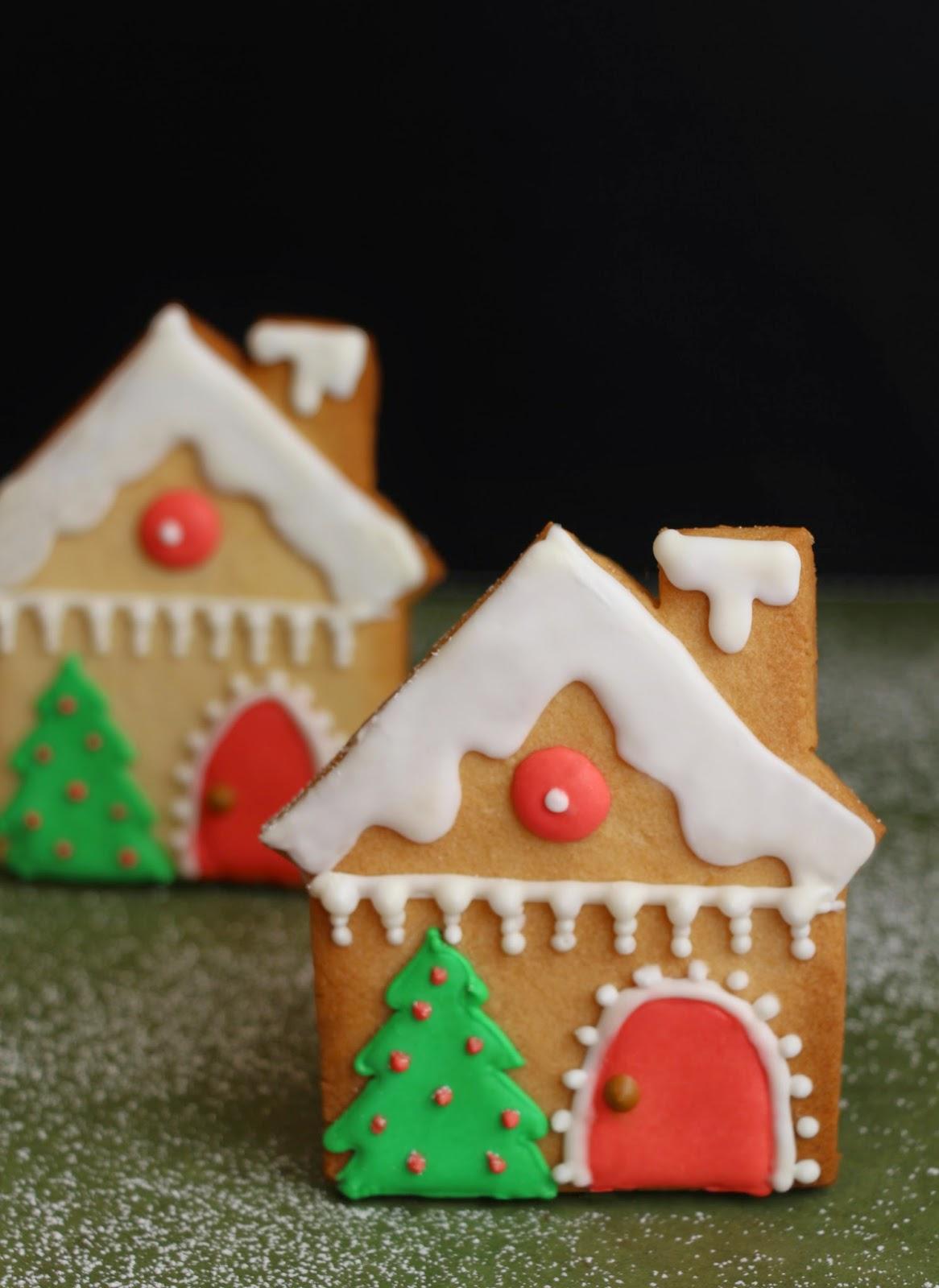 galletas casita navidad