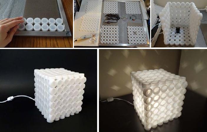 Creare oggetti con i tappi di plastica il fai da te for Come fare per costruire la tua casa