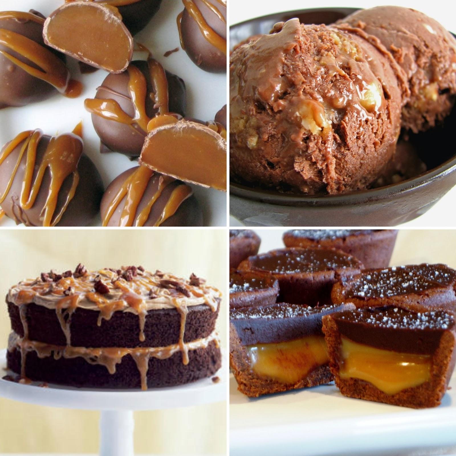 chocolate caramel desserts