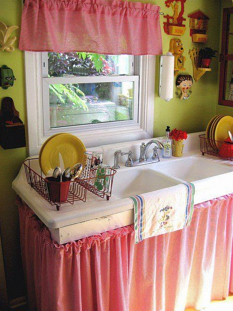 Diseño y Decoración de la Casa: Novedosas cortinas para la cocina