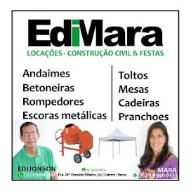 Edimara Locações-Construção Civil & Festas