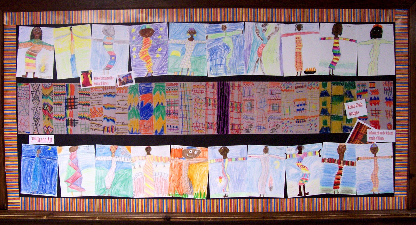it's a creative journey: black history month bulletin boards