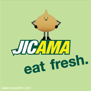 Jicama - eat fresh