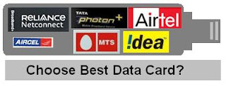 Best USB data card comparison guide in India