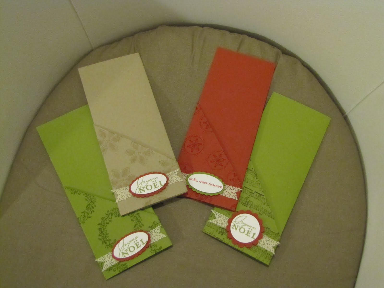 Titelaine stampin 39 up stella and dot et vie quotidienne - Porte couvert noel ...