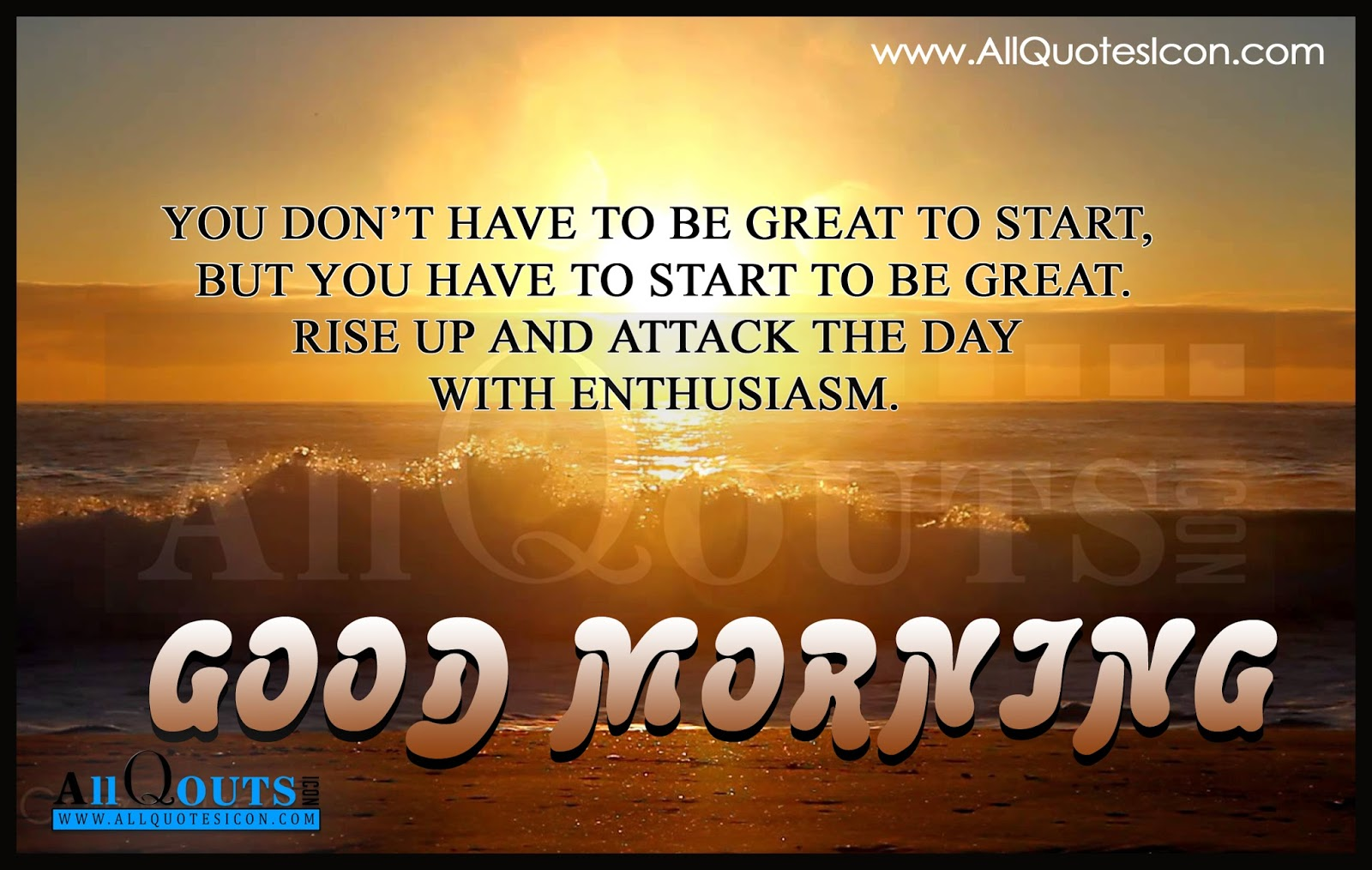 Good Morning Quotes Motivational In English : Good morning quotes and sayings in english