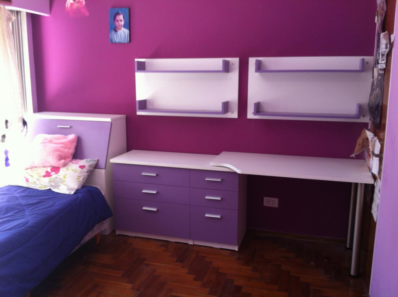 Dormitorio niña | muebles a medida, diseño y decoración