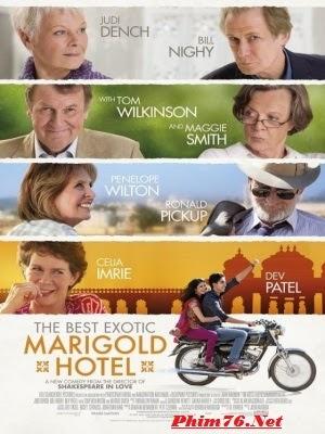 Khách Sạn Hoa Cúc Vàng Nhiệt Đới|| The Best Exotic Marigold Hotel