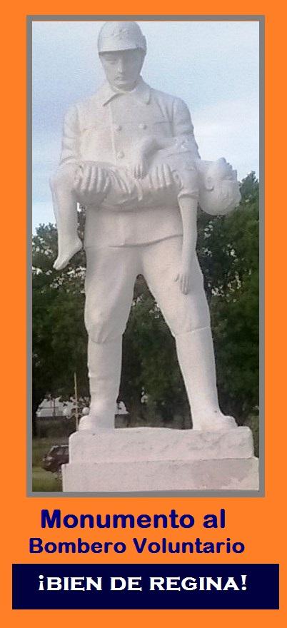 MONUMENTO AL BOMBERO VOLUNTARIO.