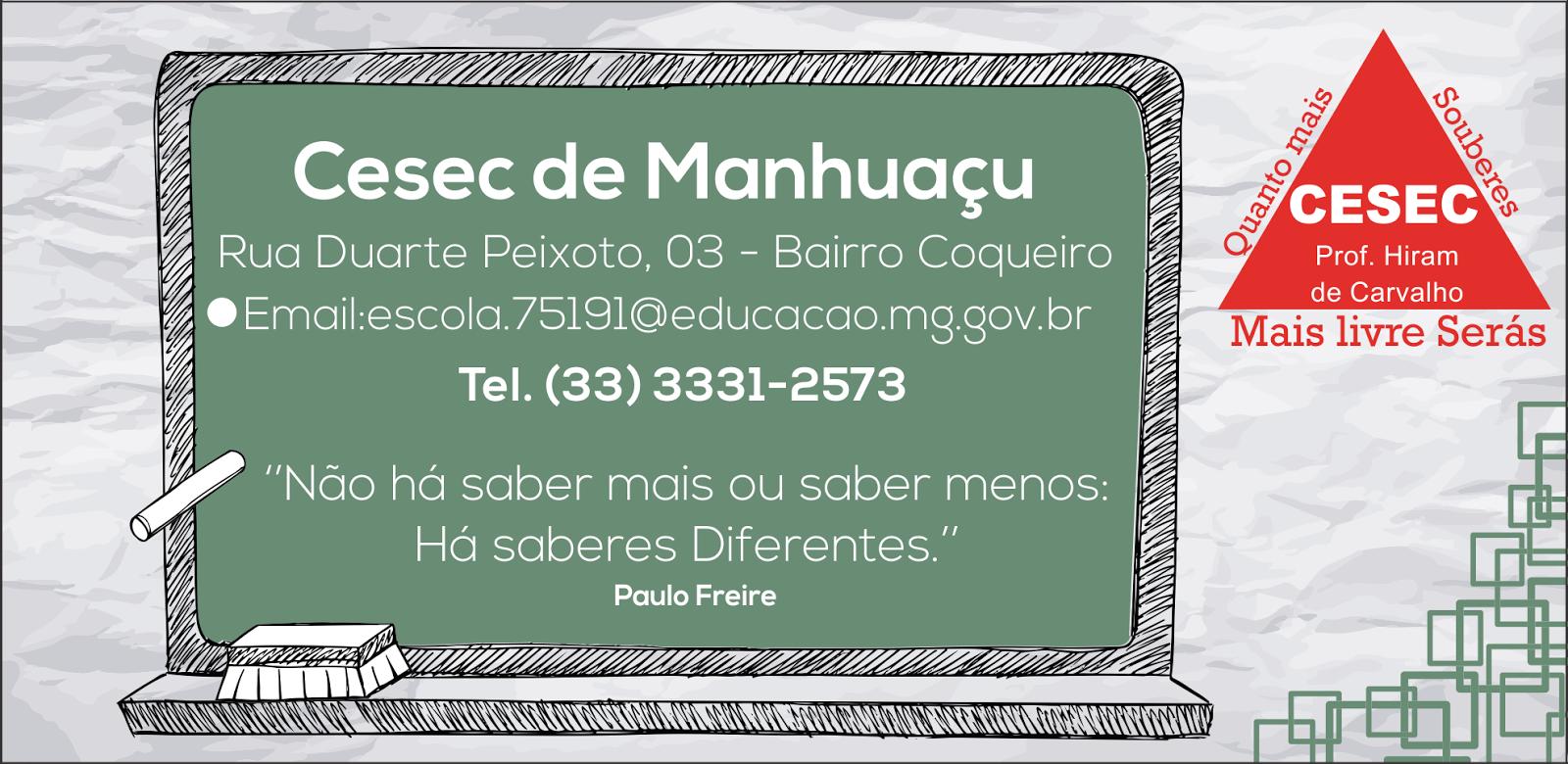 Cesec de Manhuaçu