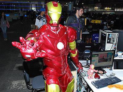 Homem de Ferro no Campus Party Brasil 2012