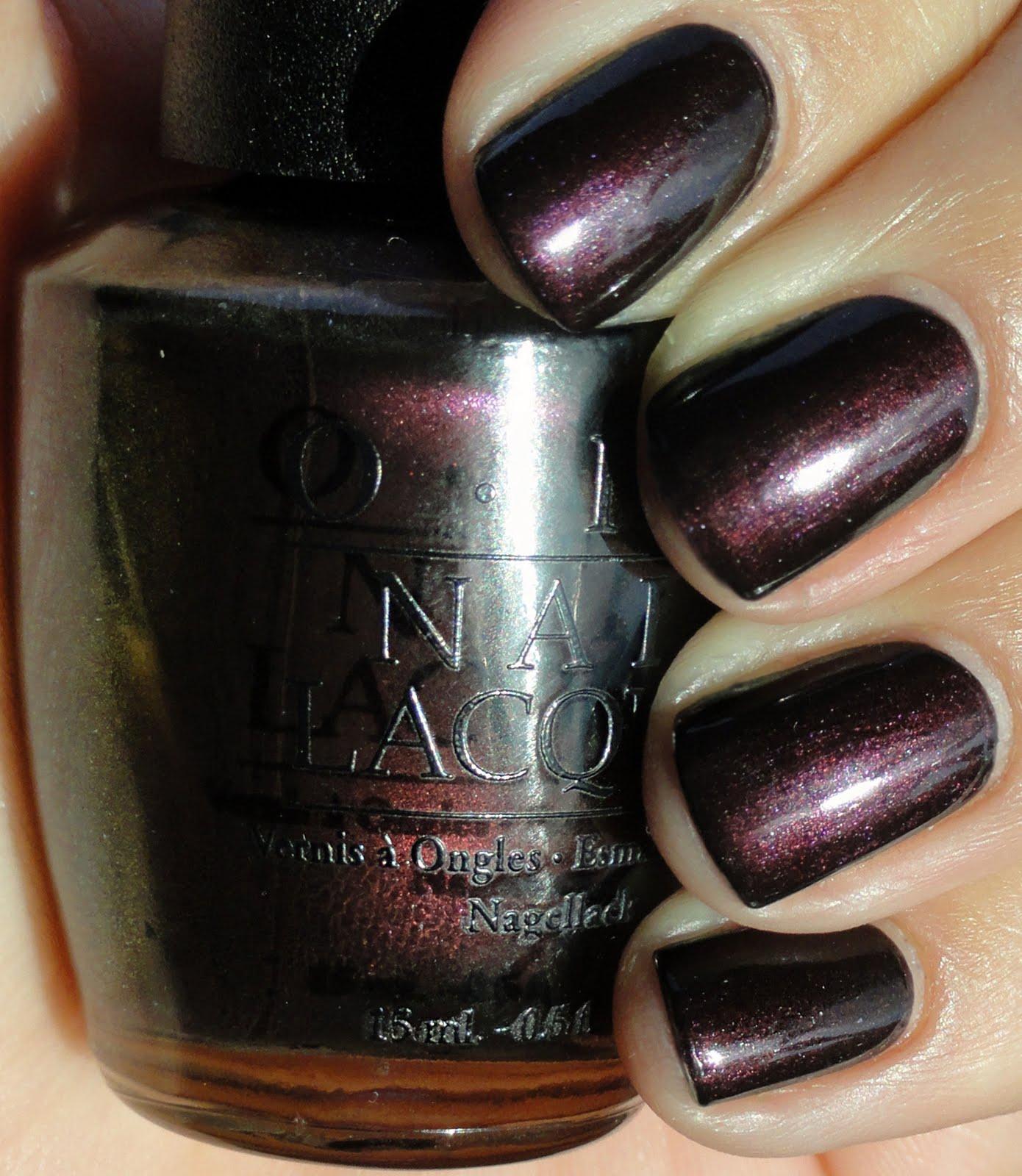KellieGonzo: OPI Black Tie Optional