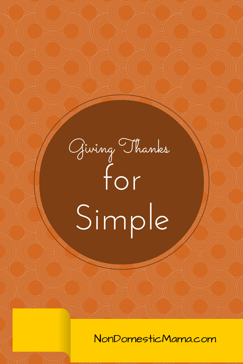Simple Thanksgiving #simple #thanksgiving