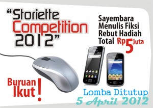 info lomba menulis cerpen deadline 5 april 2012