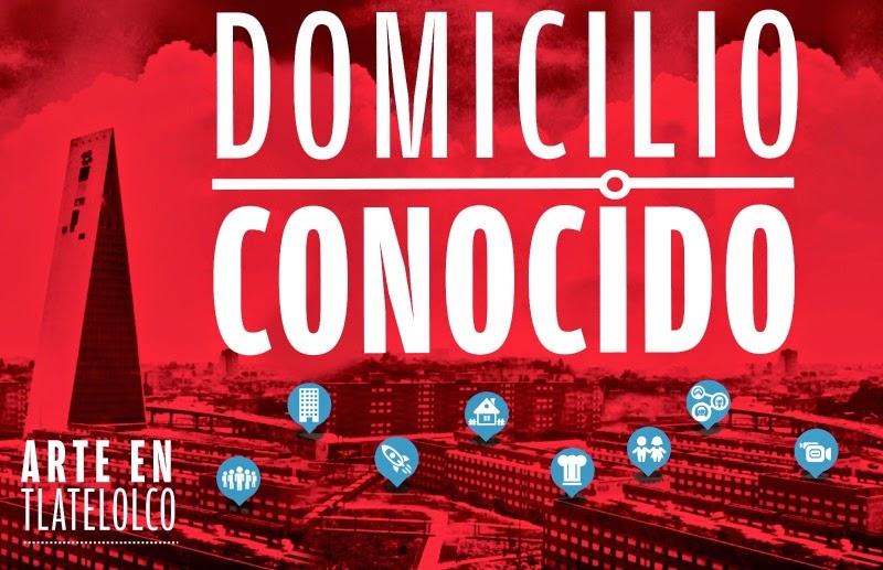 """Muestra de Arte Público """"Domicilio conocido"""" en Tlatelolco"""
