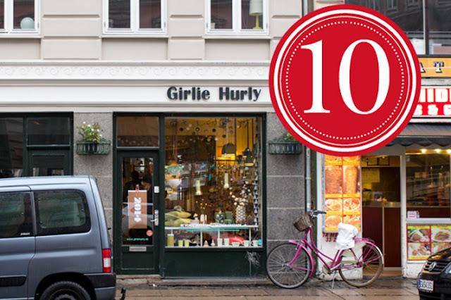 Amalie loves Denmark Butik Girlie Hurly in Kopenhagen
