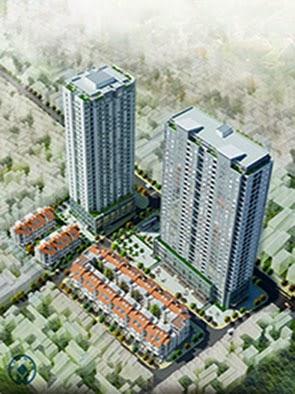 Phối cảnh nhà tập thể 136 Hồ Tùng Mậu - Housing Complex