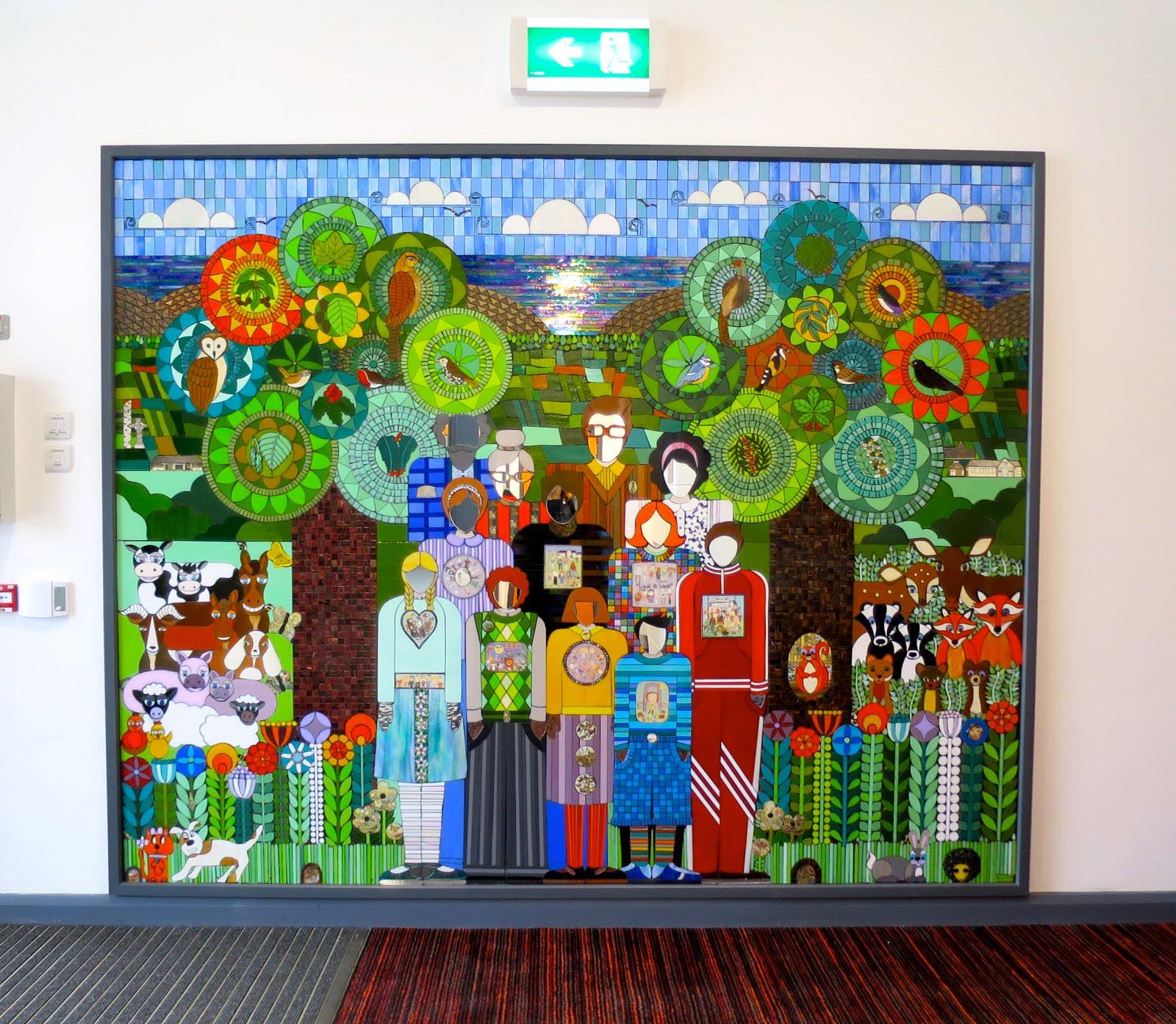 The Scoil Naomh Buithe Mosaic
