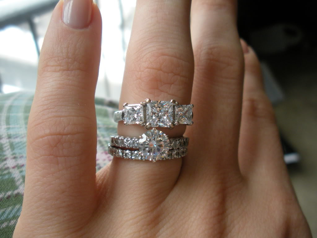 Moissanite Vs Diamond Picking The Lab Made Diamond Moissanite Engagement  Rings On Hand