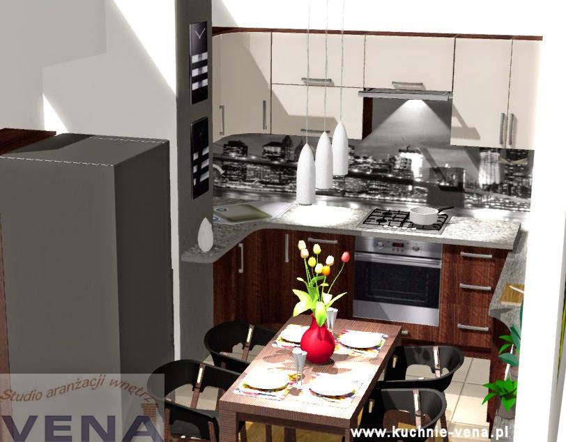 Meble kuchenne Lublin -Vena- mała kuchnia w bloku