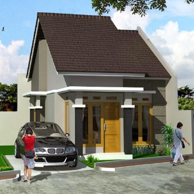 contoh desain rumah minimalis type 36 modern merpati tempur