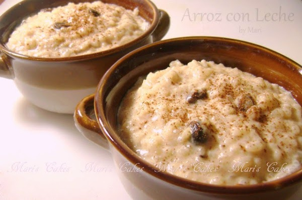 Arroz con Leche, Rice Pudding | Mari's Cakes (English)