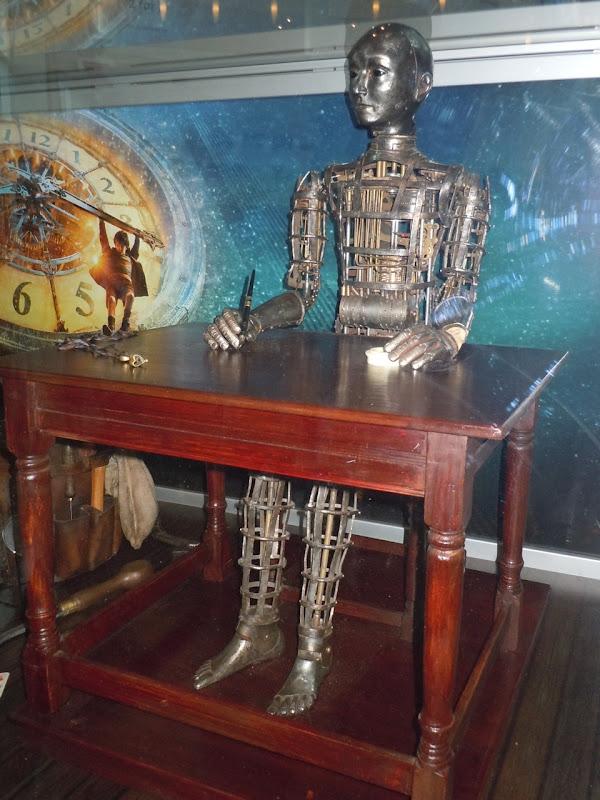 Automaton film prop Hugo