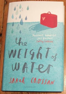 Cover for The Weight of Water by Sarah Crossan