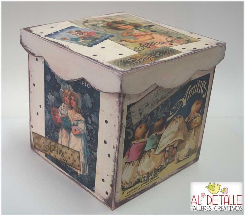 Rosabel manualidades cajas decoradas - Cajas para manualidades ...