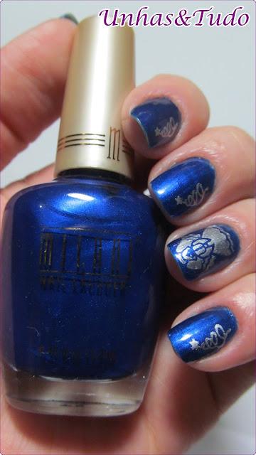 Esmalte Art Deco Blue da Milani