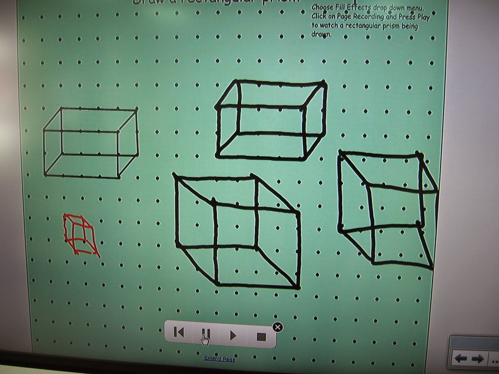 Room 21: 2D and 3D Geometry in Math