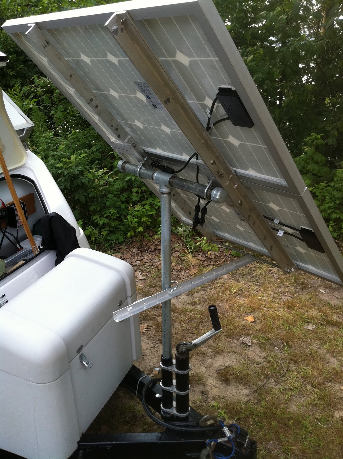 Retrac S Aliner And Camping Adventures Upgraded Solar System