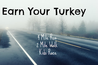 Earn Your Turkey and other Fun November Activities