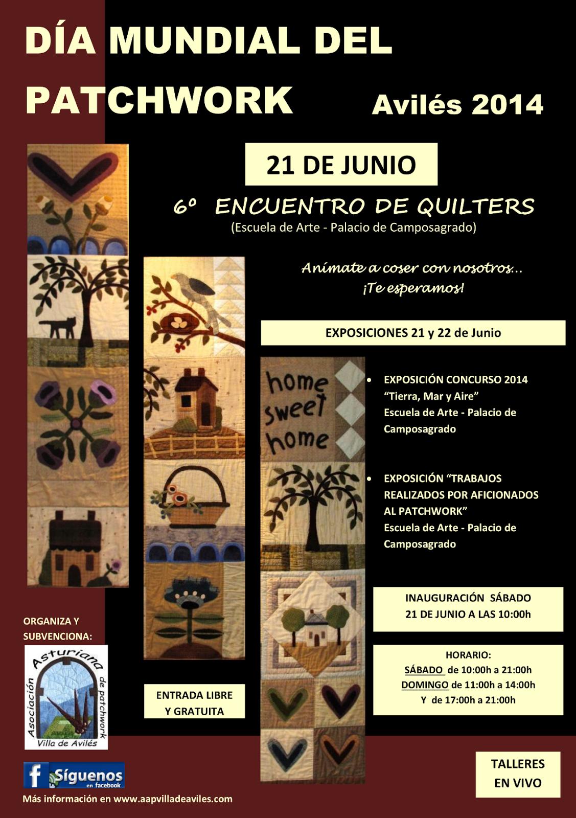 Asociaci n asturiana de patchwork para nuestras socias y for Oficina 0049 banco santander