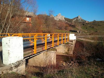 Nuevo puente de San Martín de la Tercia