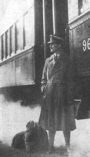 World War One soldier wearing a trench coat