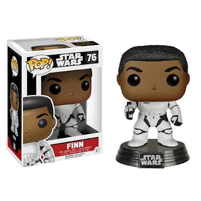 GameStop Exclusive Star Wars The Force Awakens Finn in Stormtrooper Gear Pop! Vinyl Figure by Funko