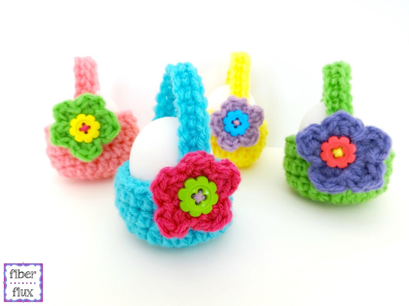 Fiber flux free crochet patternttle egg baskets free crochet patternttle egg baskets bankloansurffo Gallery