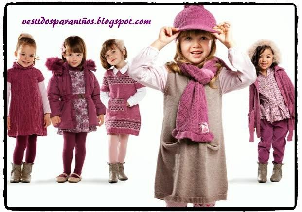 modelos para las niñas en invierno