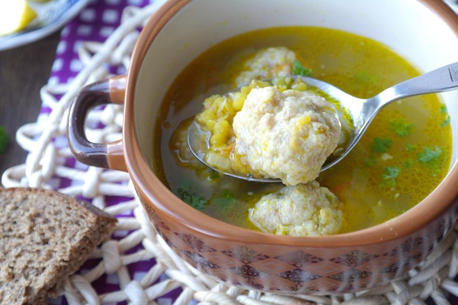 Суп из зеленой чечевицы рецепт с фото
