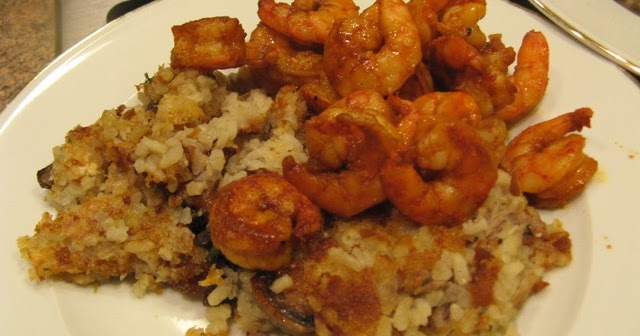 ... Had for Dinner: Barbecue Shrimp and Smoked Duck Risotto Shuffle