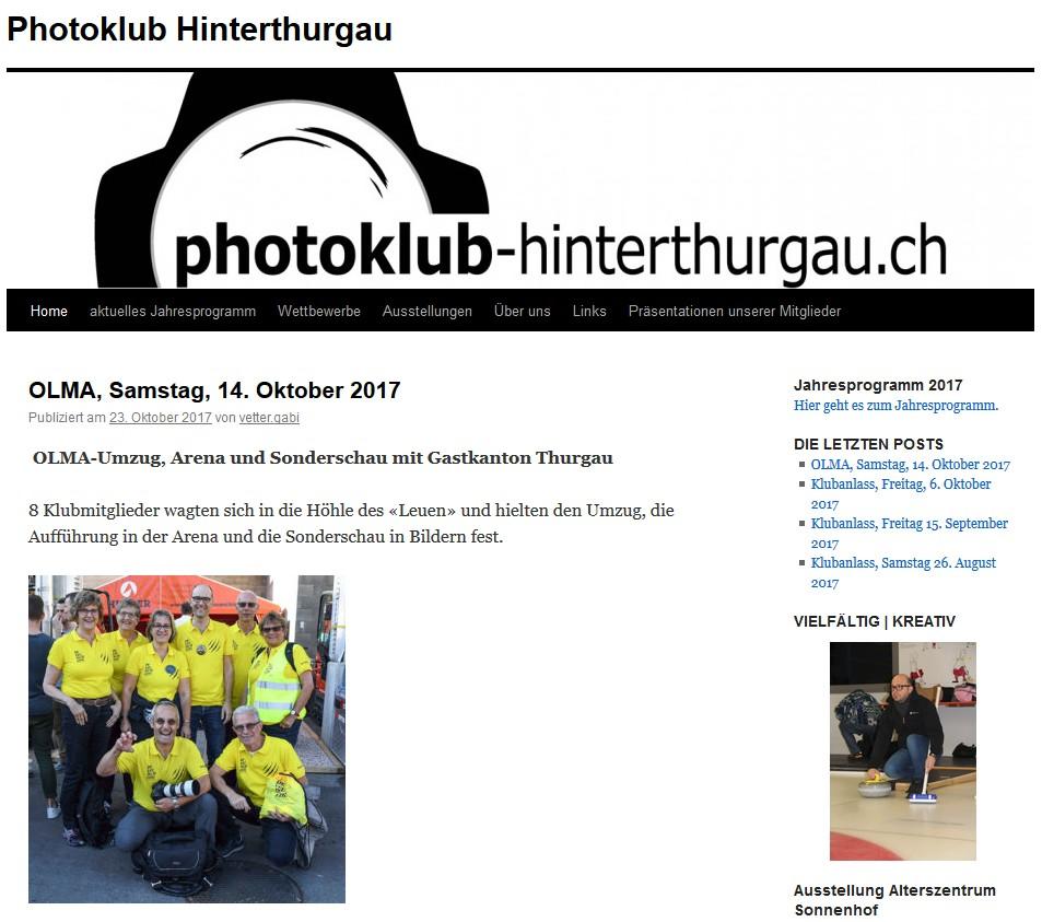 Olma 2017 Gastkanton Thurgau