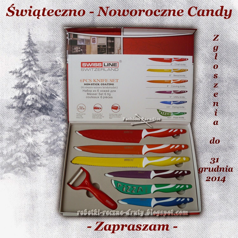 Candy na blogu Moje robótki na drutach