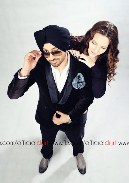 Diljit Dosanjh and Sari mercer